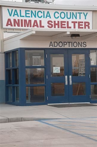 Valencia County Animal Shelter Adoptions Entrance