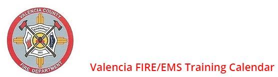 Valencia Calendar.Fire Administration Office Valencia County Nm