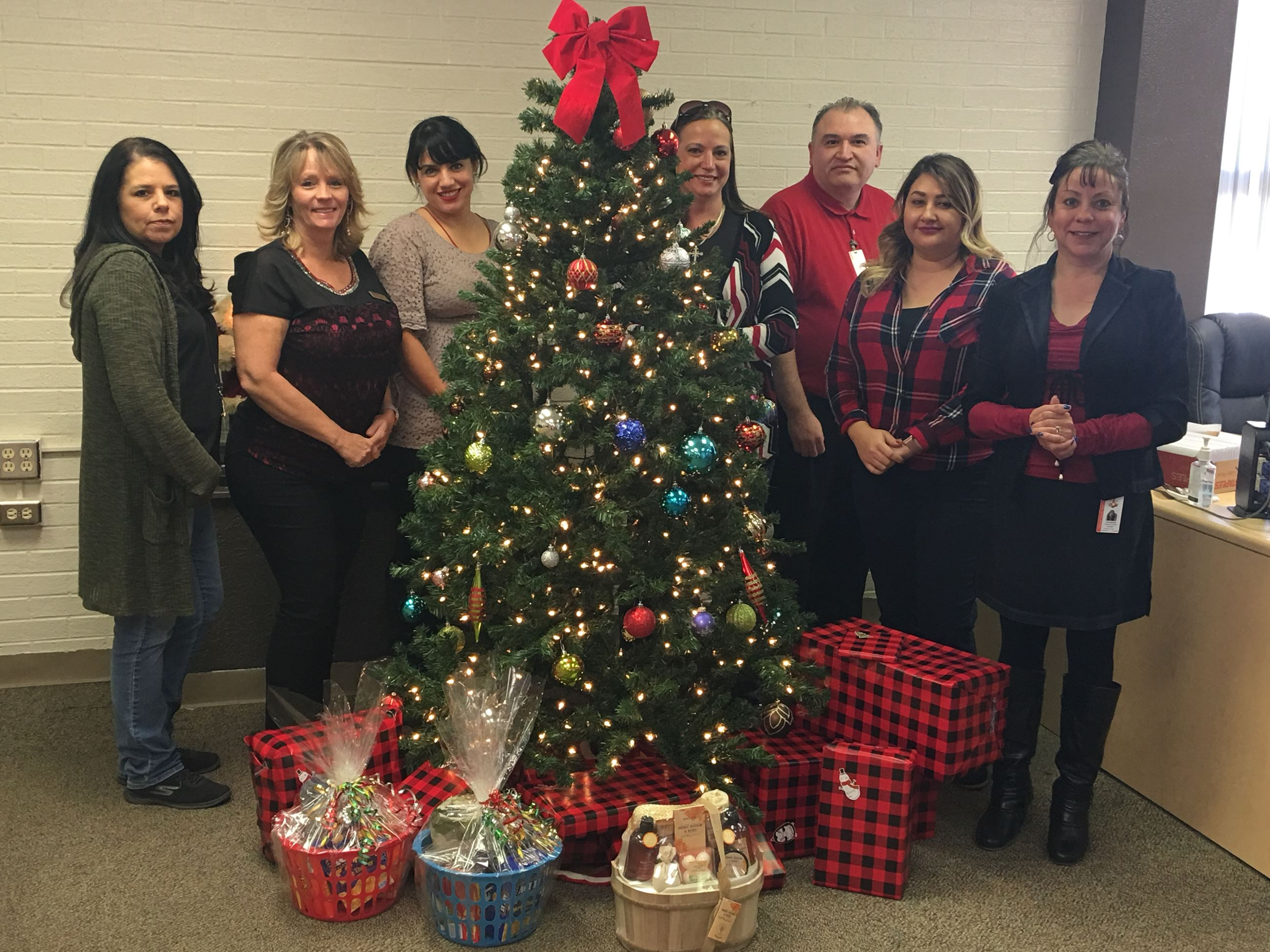 Valencia County Assessor's Office Sponsors local family for Christmas 2017
